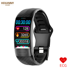ECG+PPG Smart Band Blood Pressure HR Monitor Smartband Fitness Tracker Watch Pedometer Bracelet For IOS Android