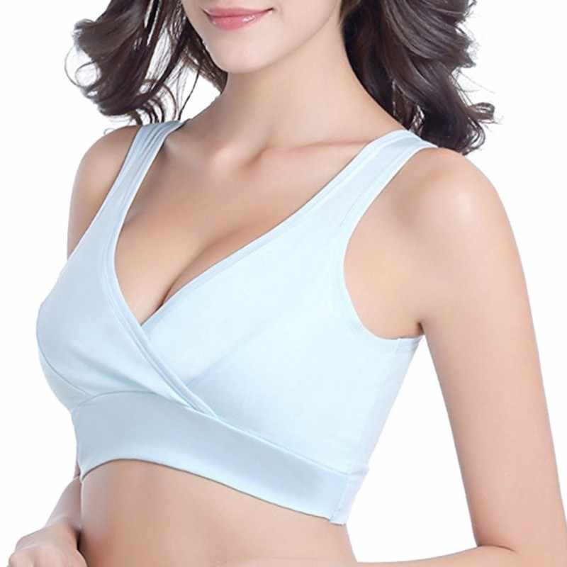 Cotton Maternity Nursing Bras Pregnant Breastfeeding Pregnancy Women Underwear Breast Feeding Bra soutien gorge allaitement
