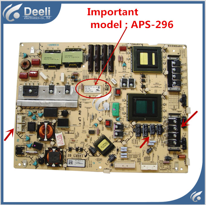 95% new good Working original for Power Supply board KDL-46HX920 APS-296 1-883-917-11 95% new original for 47ld450 ca 47lk460 eax61289601 12 lgp47 10lf ls power supply board on sale