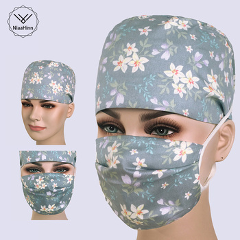 Hospital Surgical Cap for Women and Men Operating room hat Beautician Clinic Surgical Caps doctors nurses surgery caps/masks