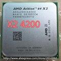 Original AMD Athlon 64 X2 4200+ 2.2GHz Dual-Core Socket AM2 Desktop CPU Processor (working 100% Free Shipping)