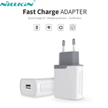 Original NILLKIN Travel Phone USB Fast Charger 6.5V 3A Quick Charge 3.0 Power Adapter EU Standard Plug Wall Charging For Samsung
