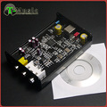 New Version PCM5102 XMOS U8 USB DAC T-Music Hifi Mini DAC Sound Card  384K 32bit with Headphone Output