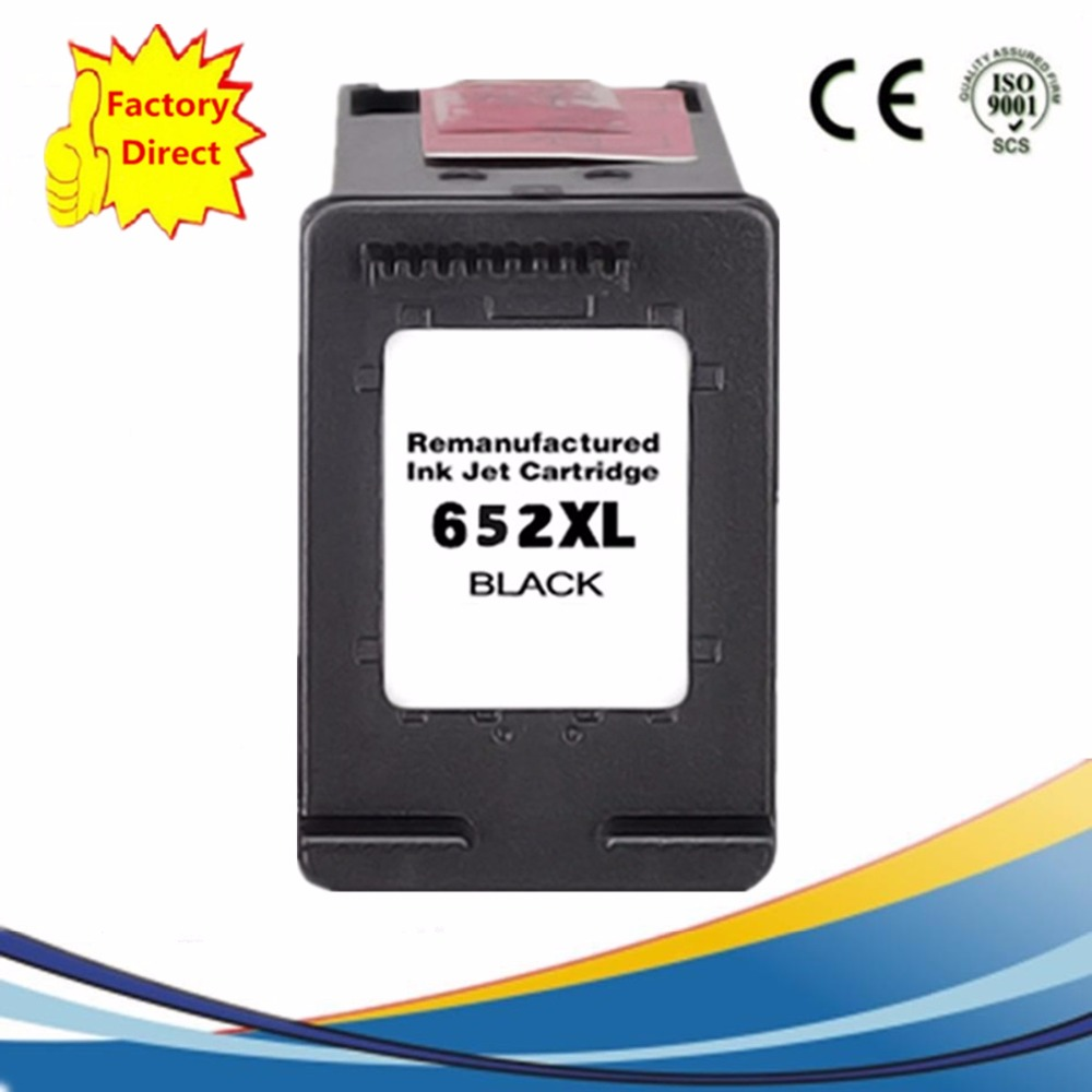 Ink Cartridges Remanufactured For HP 652 XL 652XL HP652XL HP652 Deskjet Advantage 1015 1515 2515 2545 2645 3515 3545 4515 4645