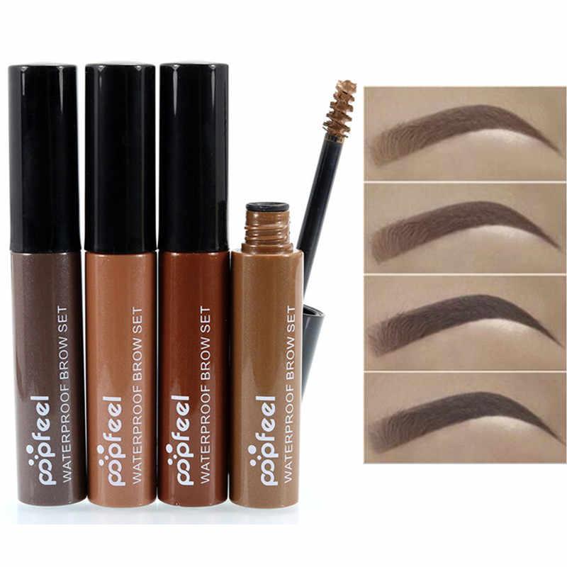 Maquillage sourcils Gel café noir brun peinture sourcils Gel imperméable sourcil teinte Mascaras Kit cosmétiques pour femmes Sobrancelha