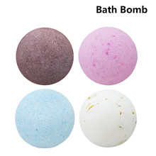 Bath Bombs Donuts gift box burbujas Bath Bombs Ball baloncuNatural Sea Salt Lavender Bubble Essential Body Scrub cajas de regalo(China)