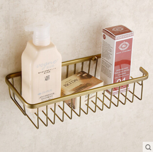 Top quality brass antique bronze double tiers bathroom shelves basket holder bathroom soap holder bathroom shampoo shelf top quality brass antique bronze double tiers bathroom shelves basket holder bathroom soap holder bathroom shampoo shelf