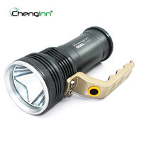 Portable Hand lamp outdoor searchlight spotlight rechargeable led flashlight camping hunting searchlight cree led torch chenglnn