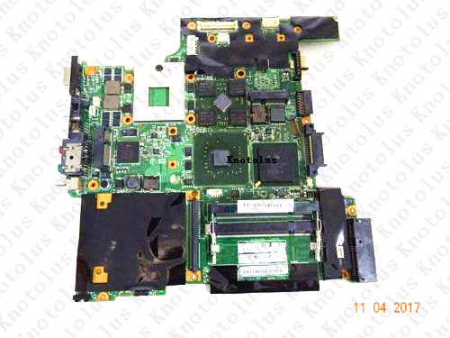42W7725 for Lenovo ThinkPad R60 <font><b>T60</b></font> laptop <font><b>motherboard</b></font> 945PM DDR2 Free Shipping 100% test ok image