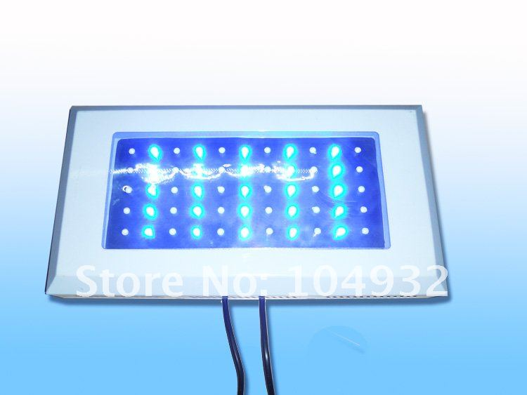 New led 60W led aquarium light 55*1W led aquarium light freeshipping by DHL/EMS