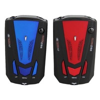New OBD V7 Car Speed Laser GPS 360 Degree Voice Alert Electronic Dog Radar Detector Color