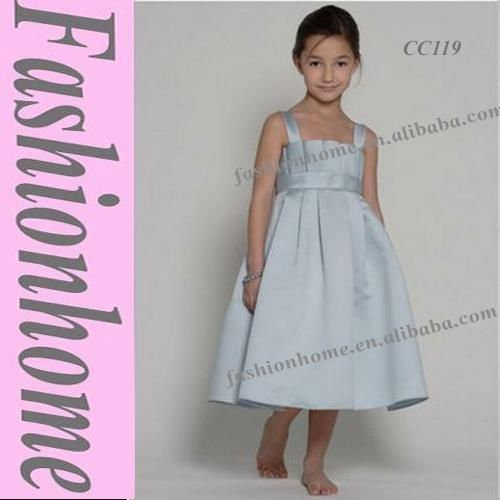 Attractive Free Shipping Strap Little girl dress, Flower girl dress, Formal kids dress CC119