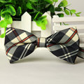 20 Colors Men Wedding Dress Party Prom Formal Business Casual British Plaid Bow Tie Groom Bow Tie Bestman Bow Ties Free Shipping