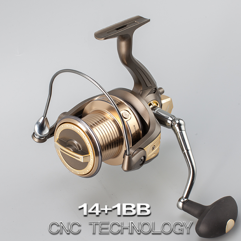 molinete Fishing Reel 7000/8000/9000Full Metal Spool 14+1BB Long Shot Spinning Reel Sea Salt Water Carp Carretilha Pesca Tackle fddl 9000 10000 large long shot fishing wheel 12 1bb 4 9 1 full metal line cup spinning reel fishing reel carretilha para pesca