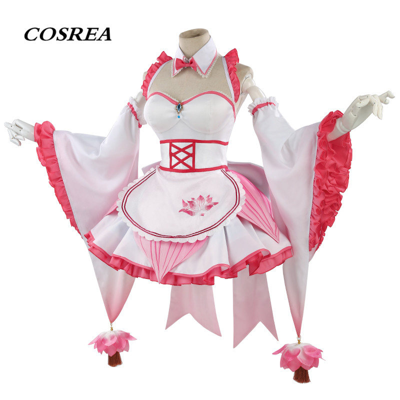 COSREA Hot Game Arena Of Valor Cosplay Costume Diao Chan Fancy Lovely Apron Dress Costumes Halloween Party For Adult Woman