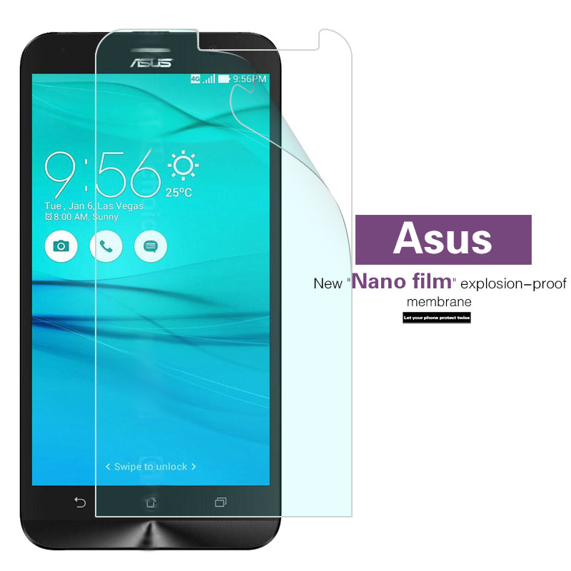 Screen Protector Films For ASUS ZenFone Go Live ZB551KL ZB450KL ZB452KG ZC451TG ZB500KL Explosion-proof Nano Soft Film Cover