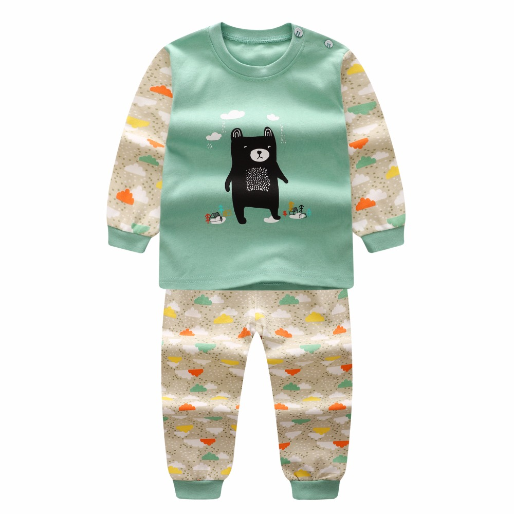 2017 Cotton Long Sleeve Baby Clothing Set Summer Cheap Newborn Toddler Baby Boys Clothes Set Roupas Bebes Adorable Infant Sets