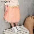 Baby girls tutu fluffy chiffon pettiskirt baby girls skirts Princess party tulle dance wear Skirts for girls 2-7 Ys