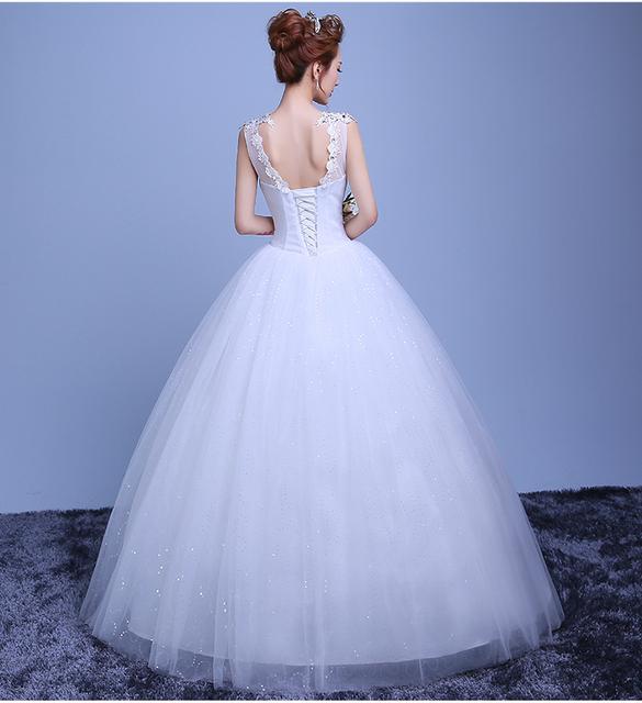 Crystal Lace Wedding Dress Women Diamond Women Red Beige Bride Dressbrautkleid Vestido De Noiva Casamento Civil