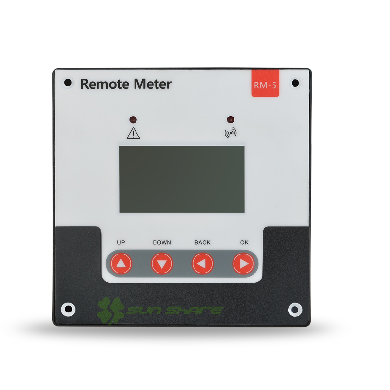 Intelligent  Remote Meter/ Control Unit for MPPT solar System Controller 12V with LCD Screen with RJ12 Communication interface