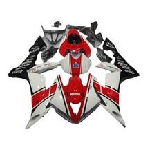 Kit de carenado blanco rojo para Yamaha YZF R1 04 05 06 YZF1000 2005 2004 2006 carenados 7 regalos xl69