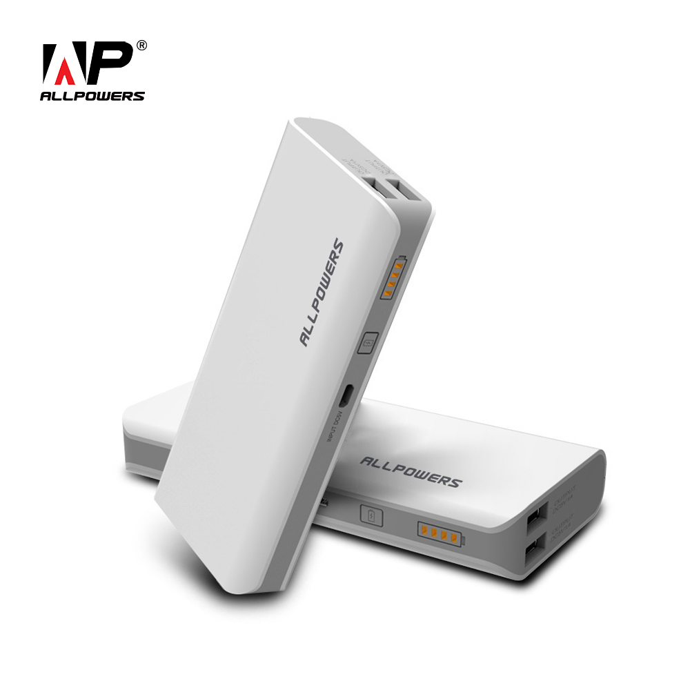 ALLPOWERS High Capacity 15600mAh Power Bank Portable Phone Battery Charger for iPhone 6 6s 7 7plus