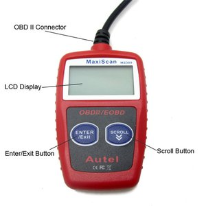 KW806 Car Code Reader CAN BUS