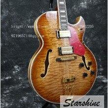 Starshine free shipping electric guitar popular guitar semi-hollow body classic guitar electric 335 jazz guitar high quailty