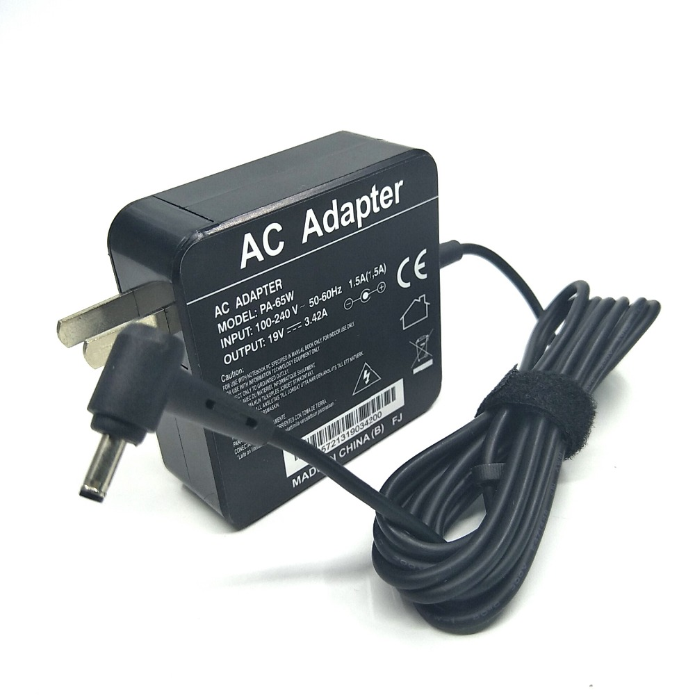 Laptop AC adapterFor ASUS  UX21A UX32A UX303 S200E U305F UX31A UX305 UX300 UX303 with US 19v3.42a 4.0mm*1.35mm portable adapter