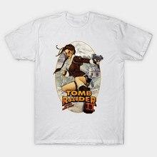 Tomb Raider II mens  tees fitness hip hop men tshirts clothing super big size cmt Fashion Classic Unique giftT-Shirt