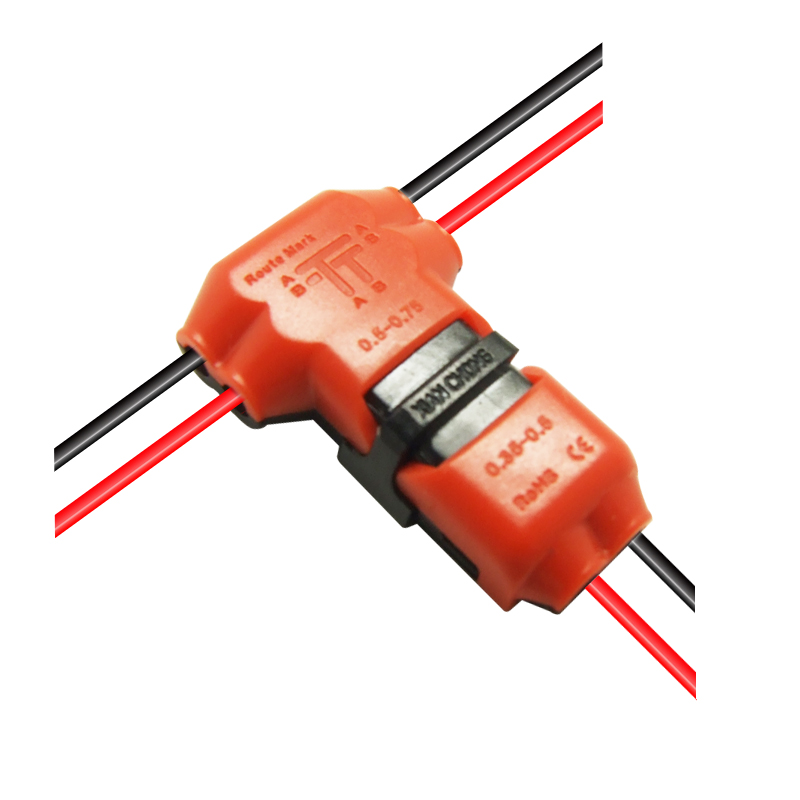 5Pcs/lot 2 Pin 2 Way 300v 10a Universal Compact Wire Wiring Connector T SHAPE  sc 1 st  AliExpress.com : wiring t connector - yogabreezes.com