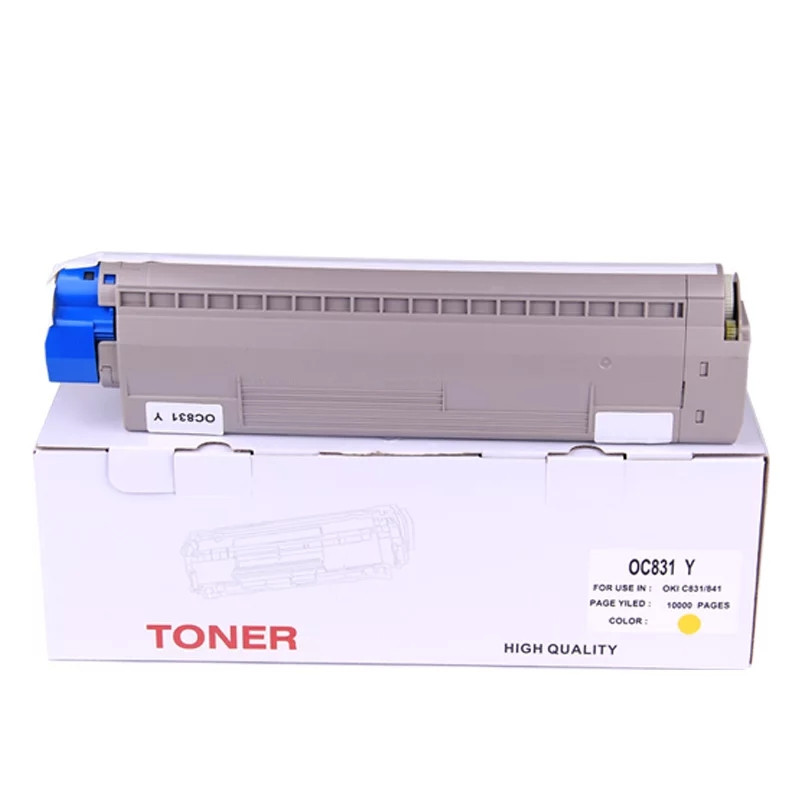 Same original print C831 C841 toner compatible for OKI C831 C841 copier toner kit laser cartridge KCMY Same original print C831 C841 toner compatible for OKI C831 C841 copier toner kit laser cartridge KCMY