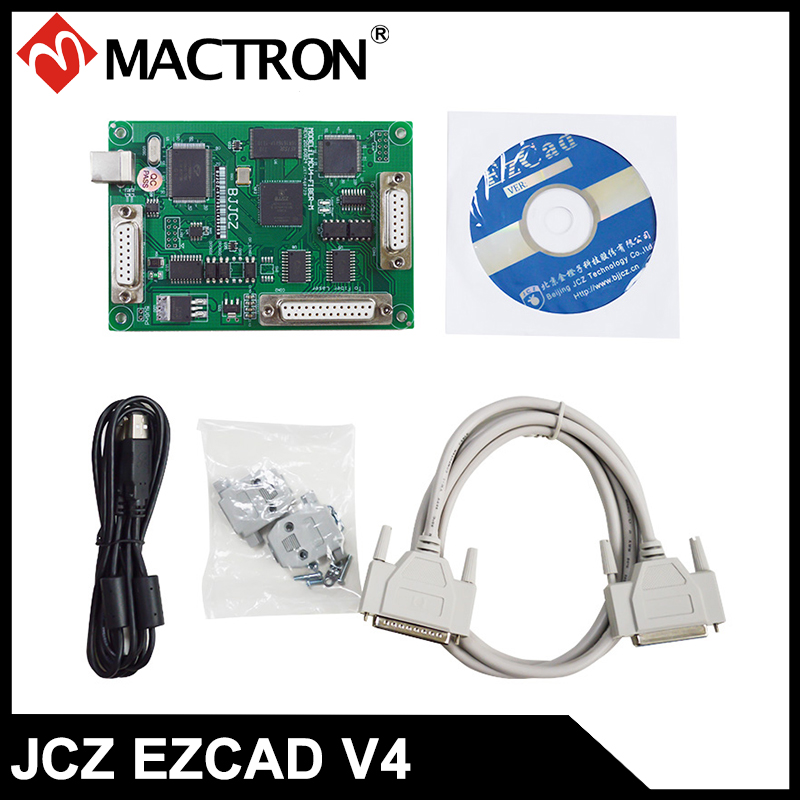 Originele JZC V4 Fiber LMC lasermarkeercontroller, speciaal voor Max, Raycus, IPG Fiber Laser Source
