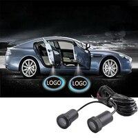10 paar Auto Deur Licht 7 W Cree Led Chips Lamp Loge Laser Welkom Lamp Shadow Projector Licht Voor Audi