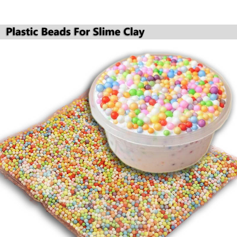 New Styrofoam Polystyrene Kids Assorted Balls Foam Beads Colorful Filler