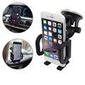 Sostenedor del teléfono del coche ventana del parabrisas del coche / Air Vent Mount Holder para el iPhone 5 5S 5C 6 más para sony titular 1-east