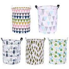 Cucian Hamper Bag Cylindrical Stand Clothing Basket Washing Storage Bucket Toy Sundries Barrel Clothing Storage Barrel