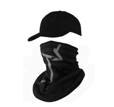 Топ продаж, маска для лица+ Кепка Aiden Pearce, костюм для косплея, бейсбольная кепка - Цвет: cap and mask