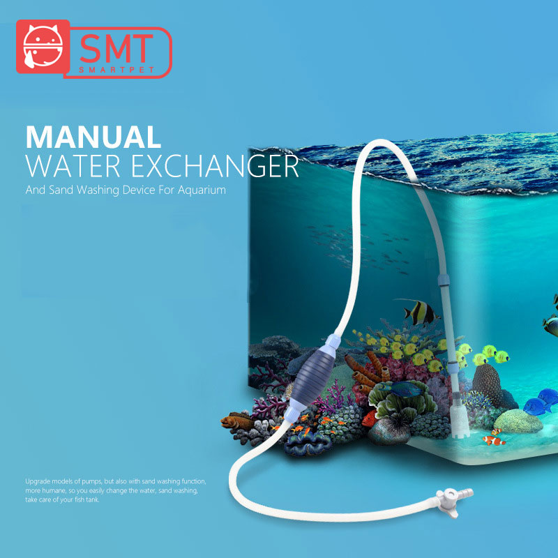 SMARTPET Fish Tank Gravel Cleaner Siphon Suction Pipe Aquarium Water Changer Cleaning Tools Sand Washer Filter in Cleaning Tools from Home Garden