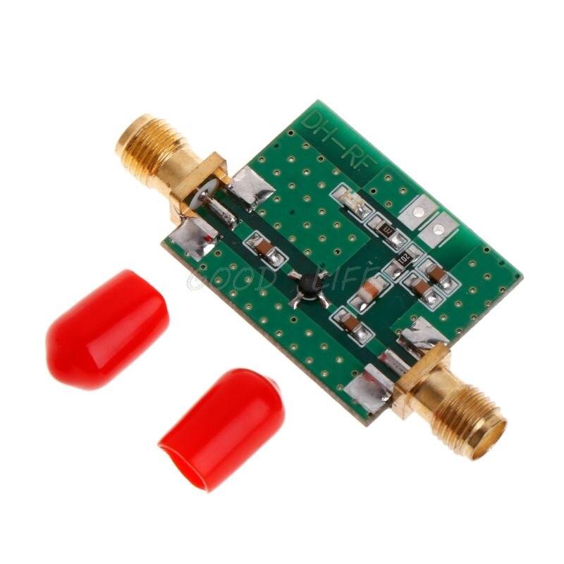 0.1-2000 mhz 2 ghz rf wideband amplificador de baixo nível de ruído lna módulo de banda larga ganho 30db dropship