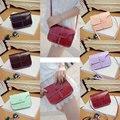 Mini Women Retro Synthetic PU Leather Mini Solid Handbag Cross Body Shoulder Bags Fashion  BS88