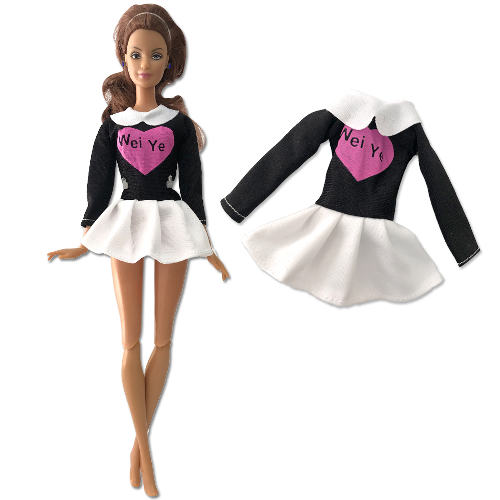 NK One Pcs Doll Clothes Dress Fashion Skirt Party Gown For Barbie Doll Girl Best Gift 271B 6X