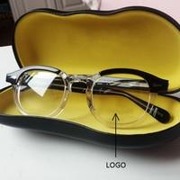 Optical Glasses Frame Men Johnny Depp Glasses Computer Transparent Eyeglass Women Brand design Acetate Vintage Style Q313