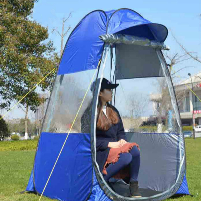 online store 07c60 f2314 2019 new private spectator sport field view concert holding automatic pop  up wind proof rain shade fishing outdoor camping tent