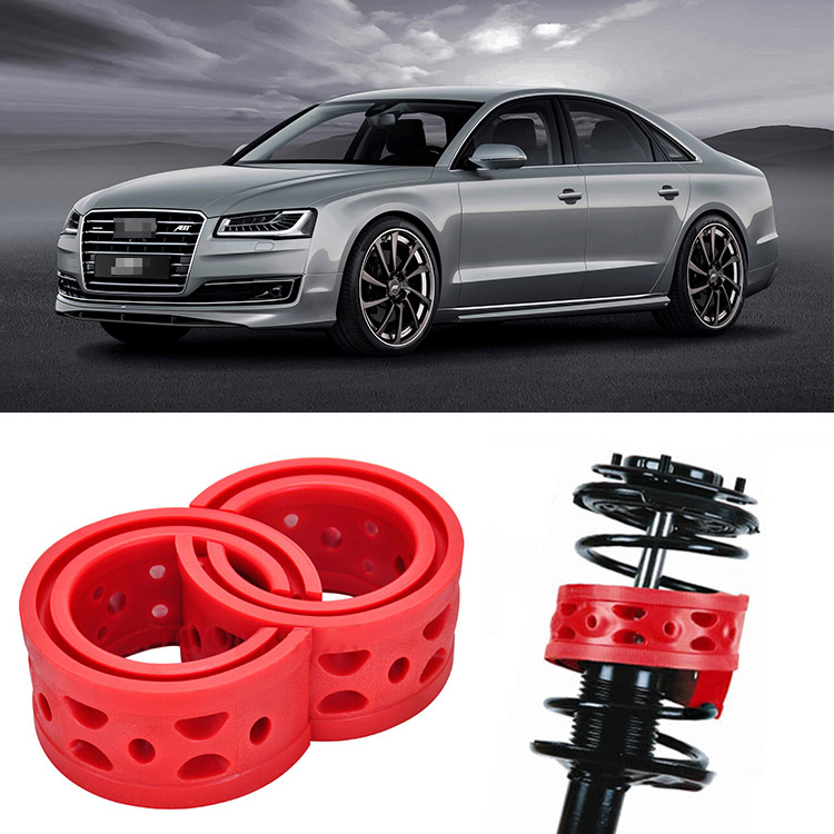 2pcs Size A Front <font><b>Shock</b></font> Suspension Cushion Buffer Spring Bumper For <font><b>Audi</b></font> <font><b>A8</b></font> image