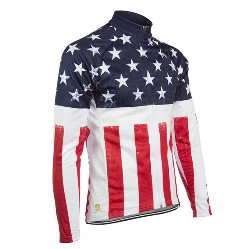 Ciclismo Jersey de manga larga de secado rápido anti-sudor Otoño - Ciclismo