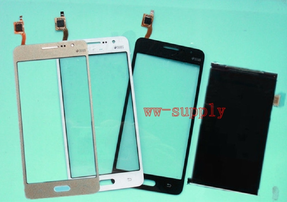 LCD Display Front Touch Screen Glass Digitizer For Samsung Galaxy Grand Prime SM G531 Sticker Kits