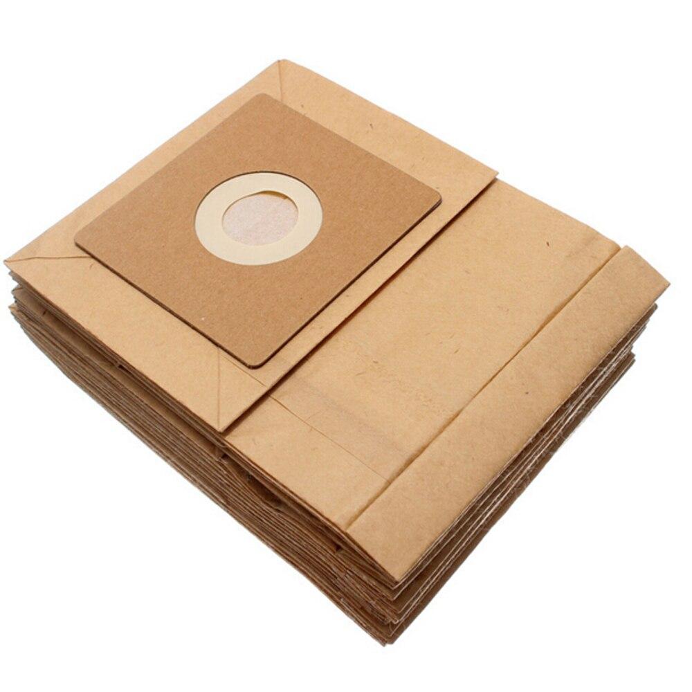 15 Pcs General Vacuum cleaner dust paper bags 100*110mm Diameter 50mm Vacuum cleaner accessories parts 15 liters dust bags and dust bucket of vacuum cleaner parts for 15 liters industrial vacuum cleaner