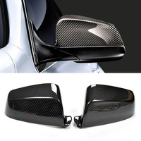 New Carbon Fiber Car Side Door View Mirrors Replacment Cover For BMW 5 Series E60 2008 2010