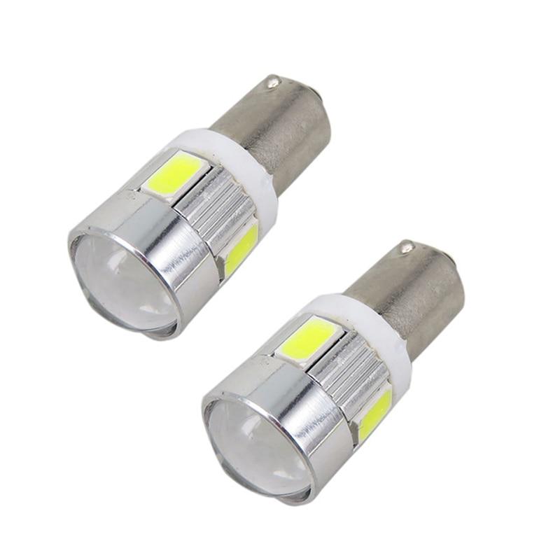 1pcs BA9S LED 12V 6 LED High Power 5630 SMD CAR SUPER WHITE YELLOW ...